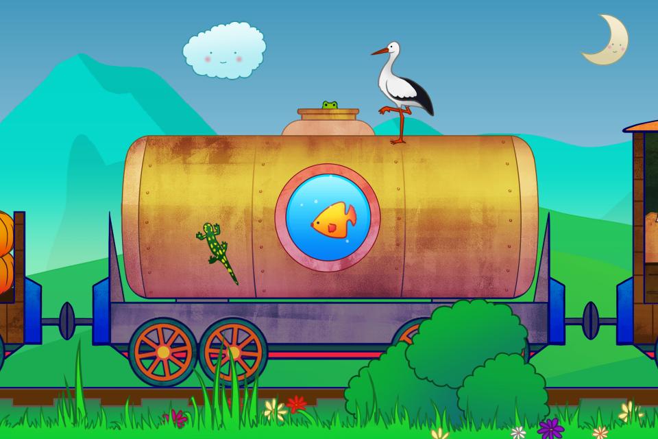 动物火车 – 搞趣网